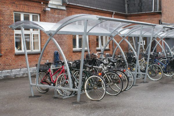 pensiline per biciclette