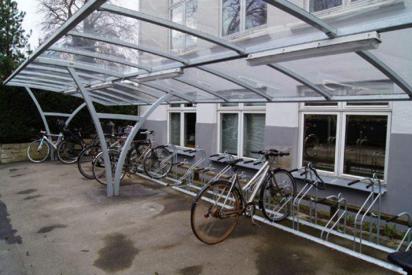 tettoie per biciclette